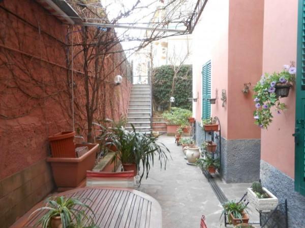 Appartamento in vendita a Genova, Adiacenze Via Nizza, Arredato, con giardino, 70 mq - Foto 8