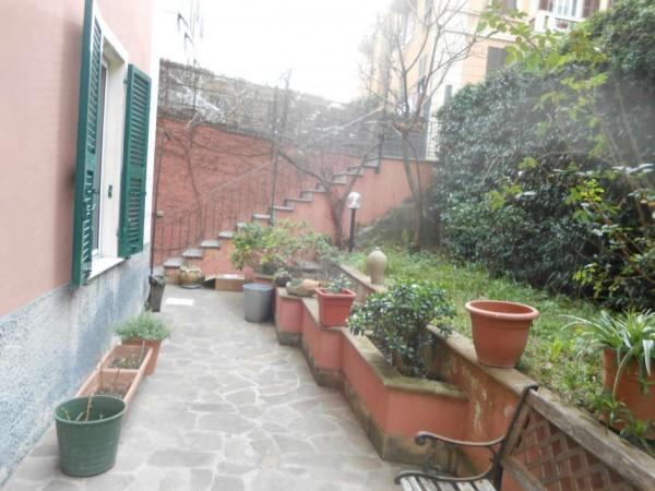 Appartamento in vendita a Genova, Adiacenze Via Nizza, Arredato, con giardino, 70 mq - Foto 21
