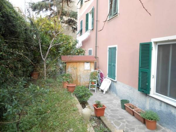 Appartamento in vendita a Genova, Adiacenze Via Nizza, Arredato, con giardino, 70 mq - Foto 20