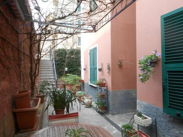 Appartamento in vendita a Genova, Adiacenze Via Nizza, Arredato, con giardino, 70 mq - Foto 7