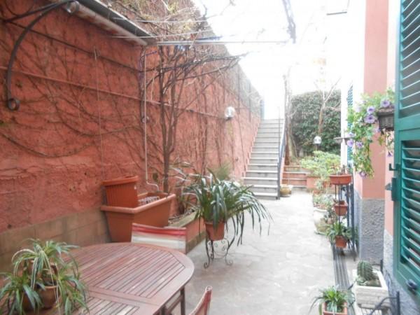 Appartamento in vendita a Genova, Adiacenze Via Nizza, Arredato, con giardino, 70 mq - Foto 6