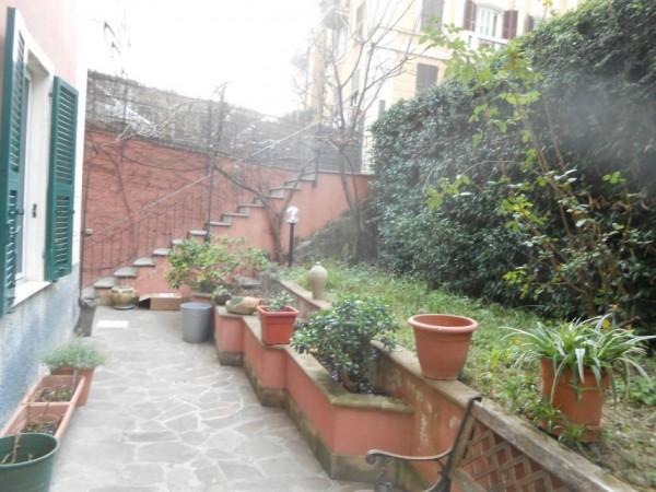 Appartamento in vendita a Genova, Adiacenze Via Nizza, Arredato, con giardino, 70 mq