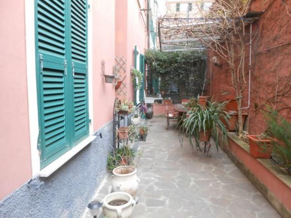 Appartamento in vendita a Genova, Adiacenze Via Nizza, Arredato, con giardino, 70 mq - Foto 13