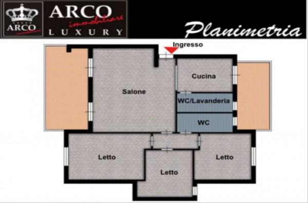 Appartamento in vendita a Sant'Anastasia, Con giardino, 120 mq - Foto 9