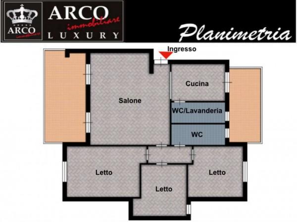 Appartamento in vendita a Sant'Anastasia, Con giardino, 120 mq - Foto 12