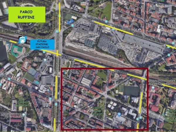 Locale Commerciale  in vendita a Torino, Parco Ruffini- Corso Siracusa, 3381 mq - Foto 1