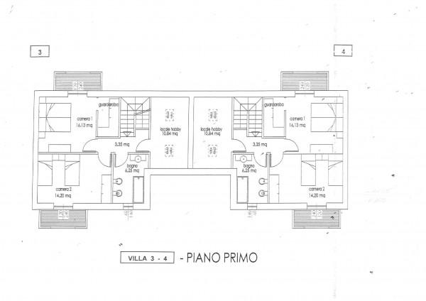 Villa in vendita a Cassano Magnago, Con giardino, 125 mq - Foto 9