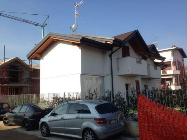 Villa in vendita a Cassano Magnago, Con giardino, 125 mq - Foto 14