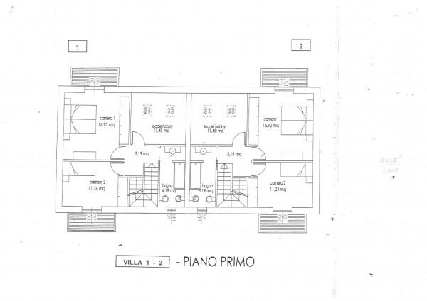 Villa in vendita a Cassano Magnago, Con giardino, 125 mq - Foto 11