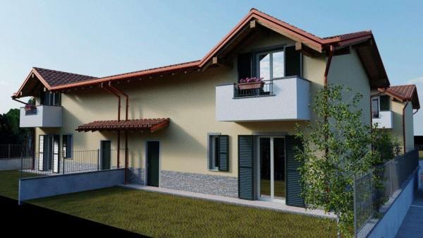 Villa in vendita a Cassano Magnago, Con giardino, 125 mq - Foto 5