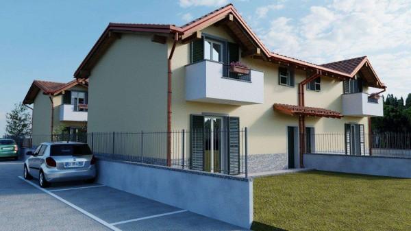 Villa in vendita a Cassano Magnago, Con giardino, 125 mq - Foto 6