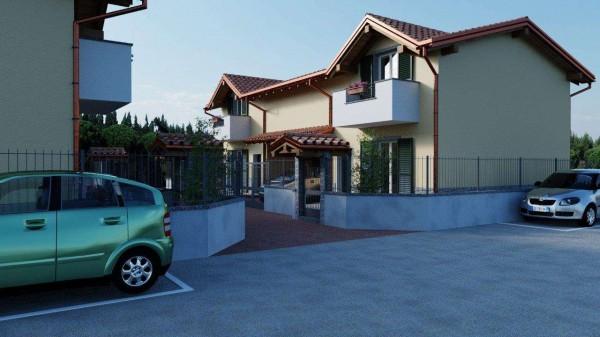Villa in vendita a Cassano Magnago, Con giardino, 125 mq - Foto 7