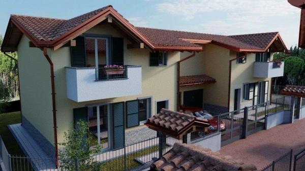 Villa in vendita a Cassano Magnago, Con giardino, 125 mq - Foto 2