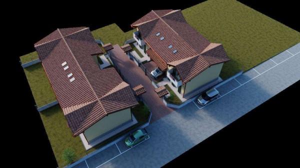 Villa in vendita a Cassano Magnago, Con giardino, 125 mq - Foto 4