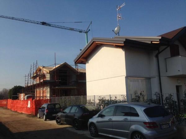 Villa in vendita a Cassano Magnago, Con giardino, 125 mq - Foto 13