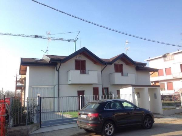 Villa in vendita a Cassano Magnago, Con giardino, 125 mq - Foto 15
