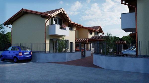 Villa in vendita a Cassano Magnago, Con giardino, 125 mq - Foto 8