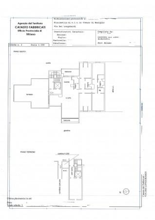 Appartamento in vendita a Basiglio, Arredato, con giardino, 200 mq - Foto 2