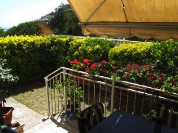 Appartamento in vendita a Genova, Pegli Multedo, Con giardino, 88 mq