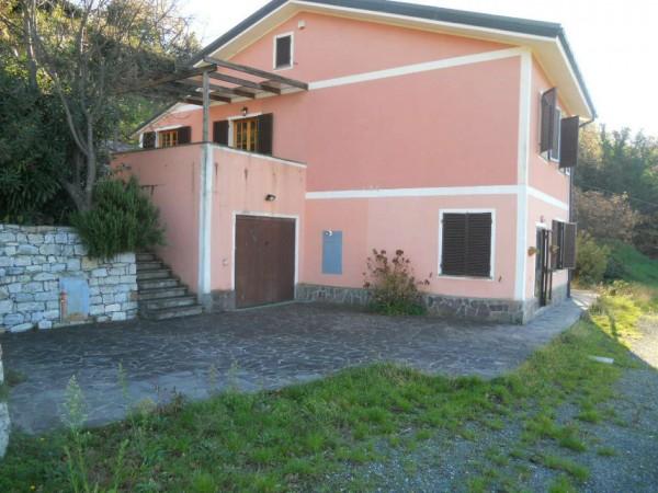 Villa in vendita a Moneglia, Casale, Con giardino, 200 mq