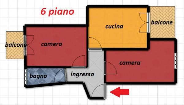 Appartamento in vendita a Torino, Cenisia, 70 mq - Foto 2