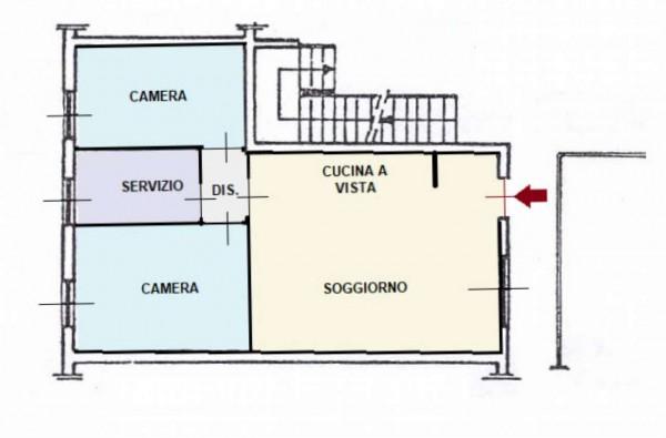 Appartamento in affitto a Biassono, Arredato, con giardino, 80 mq - Foto 2