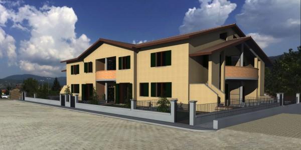 Appartamento in vendita a Bibbiena, Resididenziale, Con giardino, 119 mq