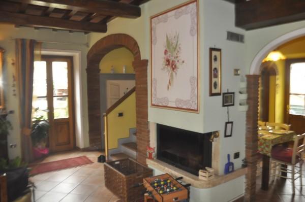 Villetta a schiera in vendita a Bibbiena, Residenziale Dil Usso, Con giardino, 130 mq - Foto 8