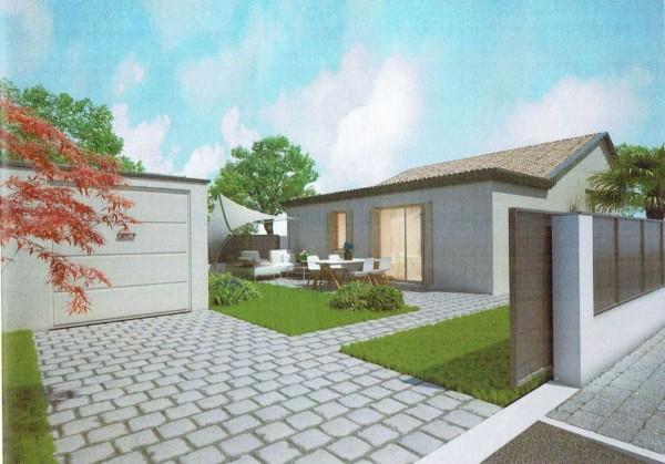 Casa indipendente in vendita a Padova, Con giardino, 90 mq