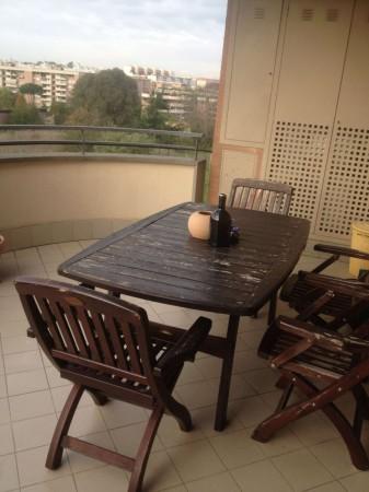 Appartamento in vendita a Roma, Ardeatino, Arredato, con giardino, 150 mq