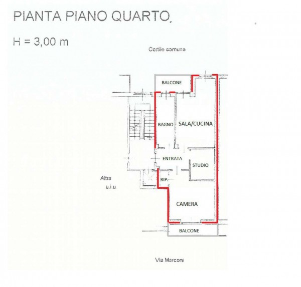 Appartamento in vendita a Pianezza, Irm, 65 mq - Foto 4