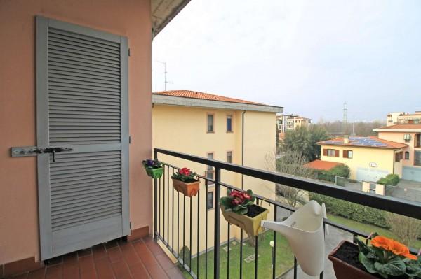 Appartamento in vendita a Pozzuolo Martesana, Campo Sportivo, Con giardino, 60 mq - Foto 11