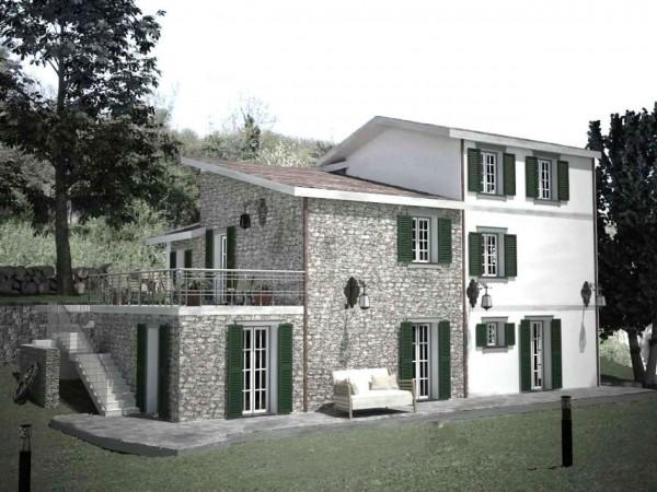 Villa in vendita a Santa Margherita Ligure, S.lorenzo Della Costa, Con giardino, 300 mq - Foto 14