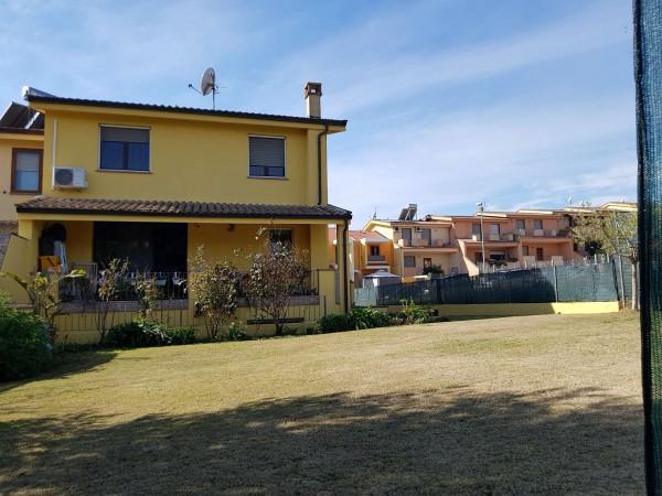 Villa in vendita a Sestu, Ateneo, Con giardino, 116 mq