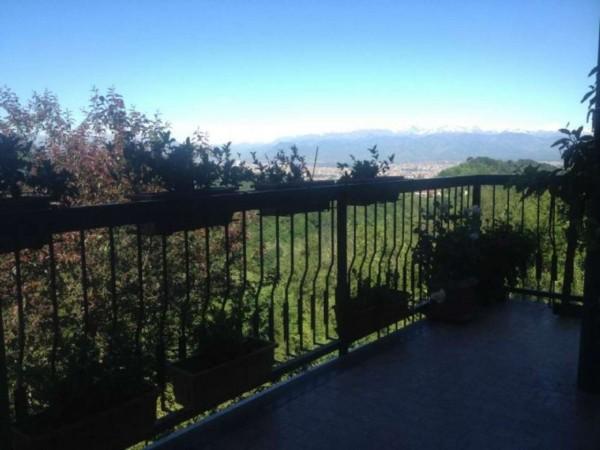 Appartamento in vendita a Pino Torinese, Collina, 125 mq