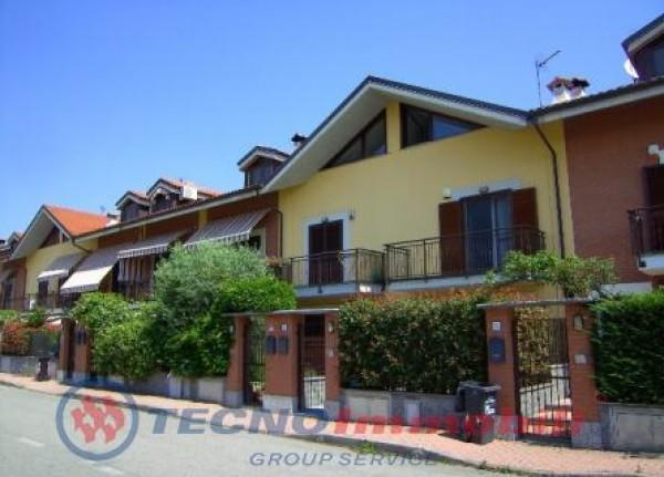 Villetta a schiera in vendita a San Maurizio Canavese, 150 mq