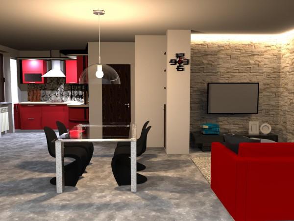 Appartamento in vendita a Bibbiena, Soci Centrale Piazza Turistica, Con giardino, 117 mq - Foto 3