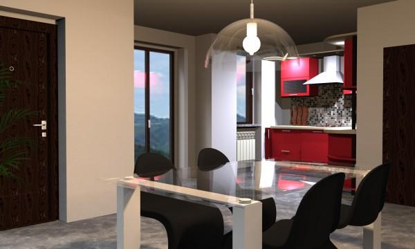 Appartamento in vendita a Bibbiena, Soci Centrale Piazza Turistica, Con giardino, 117 mq - Foto 4