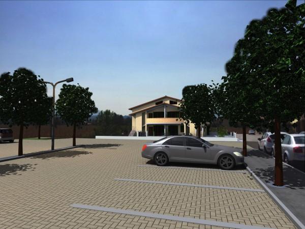 Appartamento in vendita a Bibbiena, Soci Centrale Piazza Turistica, Con giardino, 117 mq - Foto 6
