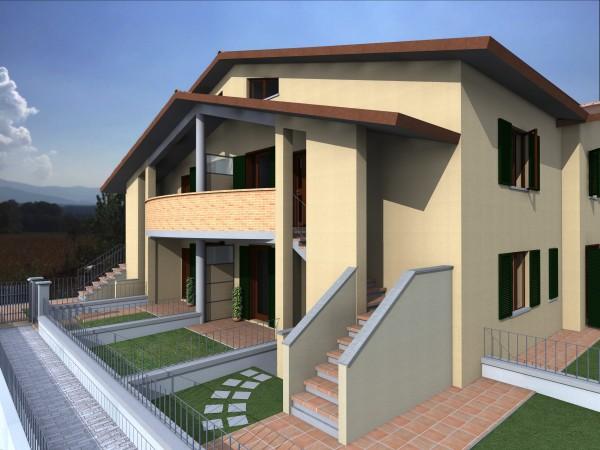 Appartamento in vendita a Bibbiena, Soci Centrale Piazza Turistica, Con giardino, 117 mq - Foto 1