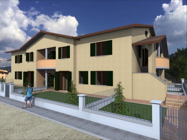 Appartamento in vendita a Bibbiena, Soci Centrale Piazza Turistica, Con giardino, 117 mq - Foto 10