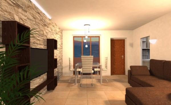Appartamento in vendita a Bibbiena, Resdienziale Centrale, Con giardino, 122 mq - Foto 2