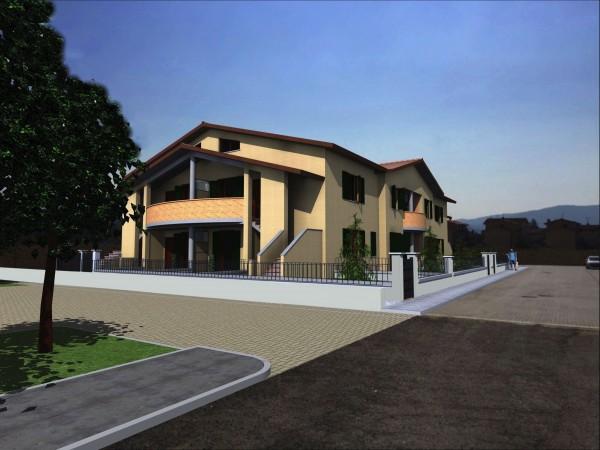 Appartamento in vendita a Bibbiena, Resdienziale Centrale, Con giardino, 122 mq - Foto 7