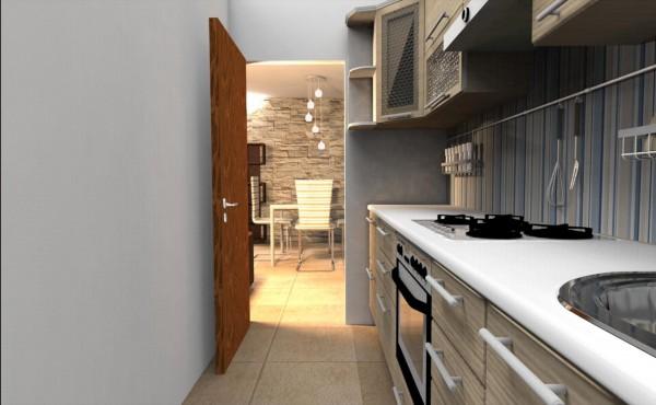 Appartamento in vendita a Bibbiena, Resdienziale Centrale, Con giardino, 122 mq - Foto 4