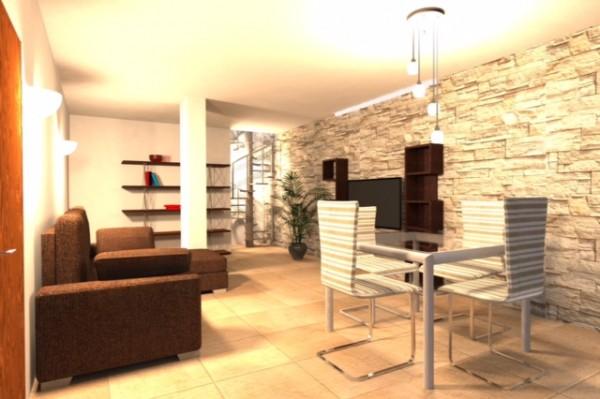 Appartamento in vendita a Bibbiena, Resdienziale Centrale, Con giardino, 122 mq