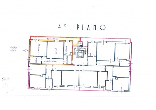 Appartamento in affitto a Gallarate, Con giardino, 85 mq - Foto 19