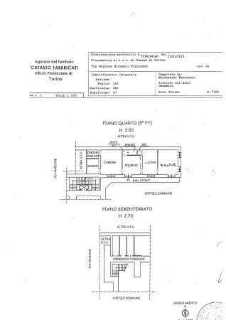 Appartamento in vendita a Torino, 110 mq - Foto 2
