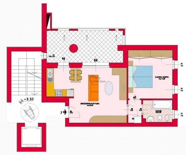 Appartamento in vendita a Garbagnate Milanese, Con giardino, 73 mq - Foto 2