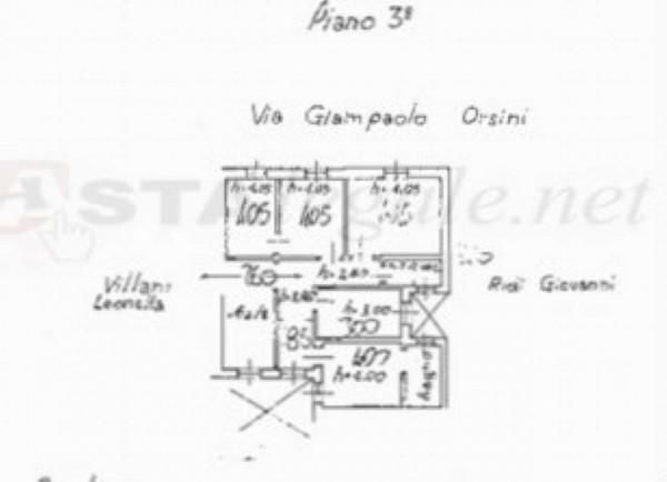 Appartamento in vendita a Firenze, Firenze Sud, 104 mq - Foto 2