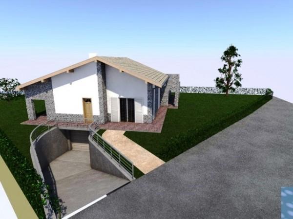 Villa in vendita a Baldichieri d'Asti, Centro, Con giardino, 180 mq